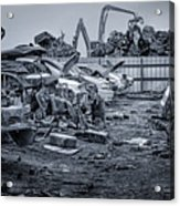 Last Journey - Salvage Yard Acrylic Print