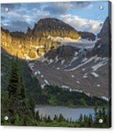 Last Light At Assiniboine Acrylic Print