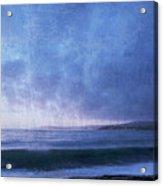 Last Light On Carmel Bay Acrylic Print