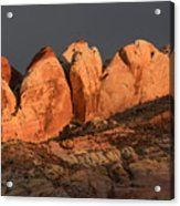 Last Light Valley Of Fire Acrylic Print