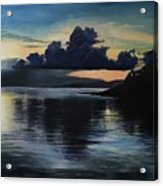 Last Look At Lusias Lagoon Acrylic Print