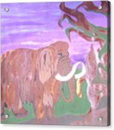 Last Mammoth Acrylic Print