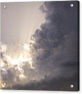 Last Nebraska Supercell Of The Summer 030 Acrylic Print