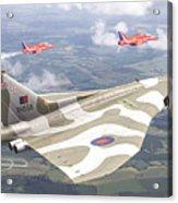 Last Royal Escort - Avro Vulcan Acrylic Print