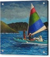Last Sail Before The Storm Acrylic Print