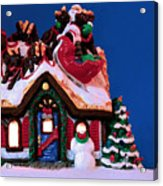 Last Stop For Santa Acrylic Print