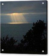 Last Sunbeams Of The Day Acrylic Print