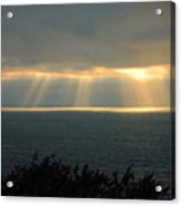 Last Sunbeams Of The Day Two Acrylic Print