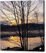 Spring Sunset - New Beginnings Coming Acrylic Print