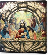 Lasy Supper Acrylic Print by Iosif Ioan Chezan