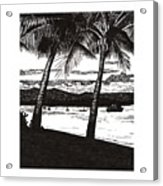 Late Afternoon At Dunk Island Acrylic Print