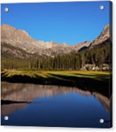 Late Afternoon At Mcclure Meadow Acrylic Print