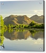 Late Afternoon At Rio Verde River Acrylic Print