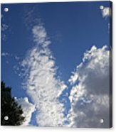 Late Afternoon Clouds Acrylic Print