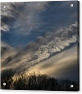 Late Afternoon Sky Acrylic Print