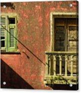 Late Afternoon Stroll Through Legnano Acrylic Print