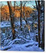 Late Afternoon Winter Light Acrylic Print