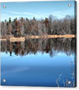 Late Autumn Reflections Acrylic Print
