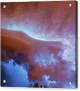 Late Night Nebraska Shelf Cloud 007 Acrylic Print