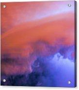 Late Night Nebraska Shelf Cloud 008 Acrylic Print