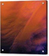 Late Night Nebraska Shelf Cloud 009 Acrylic Print