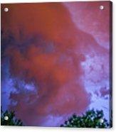 Late Night Nebraska Shelf Cloud 011 Acrylic Print