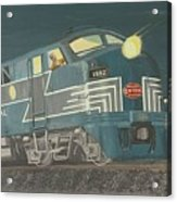 Late Night On The New York Central Acrylic Print