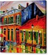 Late On Bourbon Street Acrylic Print