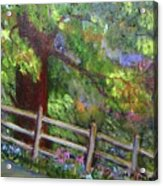 Late Summer At Pennypack Preserve Acrylic Print