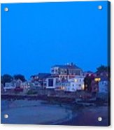 Late Summer Rockport Twilight Acrylic Print