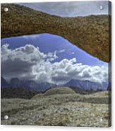 Lathe Arch Between Storms Acrylic Print