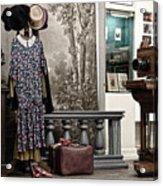 Latvian Photo Studio In The Beginning Of The 20th Century Acrylic Print