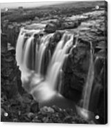 Laugafell Mountain Lodge Waterfalls 3155 Acrylic Print