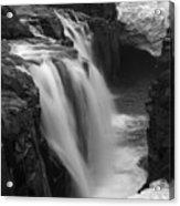 Laugafell Mountain Lodge Waterfalls Iceland 3146 Acrylic Print
