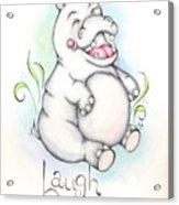 Laugh Often Acrylic Print