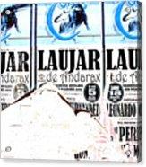 Laujar Fight Acrylic Print
