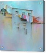 Laundry Day Blues Acrylic Print