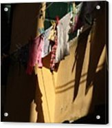 Laundry In The Sun In Venice Acrylic Print