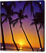 Launiupoko Sunset Acrylic Print