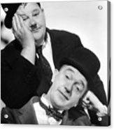 Laurel And Hardy, 1939 Acrylic Print