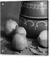 Laurel And Onions Acrylic Print