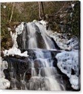 Laurel Falls In Gatlinburg Tennessee Acrylic Print