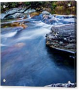 Laurel Flat, Nc - Waterfall Acrylic Print