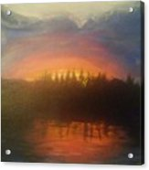 Laurel Lake Acrylic Print