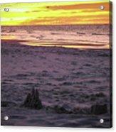 Lauren's Sandcastle Acrylic Print