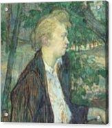 lautrec gabrielle 1891 Henri De Toulouse-Lautrec Acrylic Print