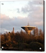 Lauttasaari Water Tower Acrylic Print