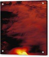 Lava At Dawn Acrylic Print