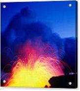 Lava Explodes Acrylic Print