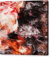 Lava Flow Acrylic Print